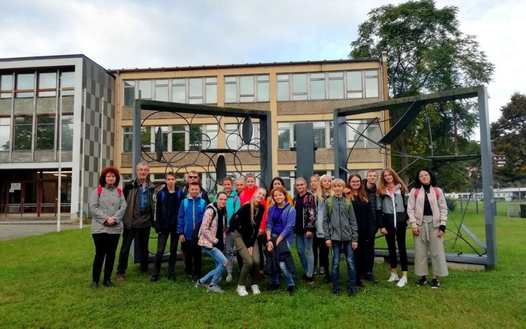 Návštěva našich žáků v německé Geře